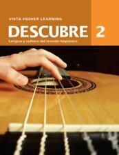 Descubre, Level 2 Cuaderno de Actividades Comunicativas, , Acceptable Book