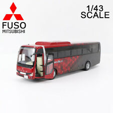 1/43 MITSUBISHI FUSO AERO ACE HI-DECKER BUS 2019 DIECAST CAR MODEL FOR DISPLAY