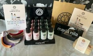 Maria Nila Gold Salon Pack add a touch of Scandi Chic to your business RRP £220