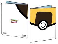Pokemon TCG ULTRA BALL 9 Pocket Portfolio Binder Holds 90-180 Cards