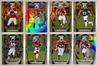 2017 Panini Prizm Silver Arizona Cardinals Football Card Lot of 8 Carson Palmer