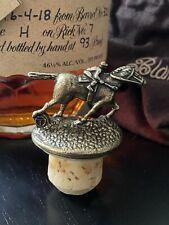 """Blanton's Single Barrel Bourbon Cork Horse Stopper Letter """"T"""""""