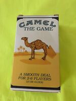 Camel THE GAME Sealed Cards, Dice, & Pencil  Score Pad Instructions
