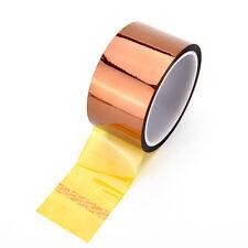 Exquisite 50mm 5cmx30M Kapton Tape High Temperature Heat Resistant Polyimide Jku