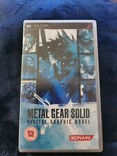 Metal Gear Solid Digital Graphic Novel PSP Game Sony PlayStation Portable Rare