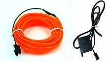 Ambientebeleuchtung Ambiente Lichtleisten Neon Innenraum Orange 1m
