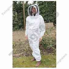 BeeKeepers Bee Suit Beekeeping White-Protective Equipment-Premium Quality