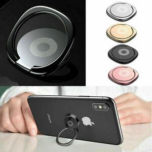 Universal Mobile Phone Holder Finger Grip Phone Case Ring Holder Rotatable Stand