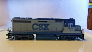 HO Scale Life-Like Diesel Locomotive CSX Transportation, Gray, #4229