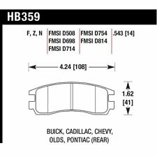 Hawk HB359F.543 HPS Rear Disc BrakePad For 00-05 Buick Lesabre/Park Avenue/Regal