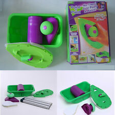 Set Paint Roller Tray Kit Household Decor Painting Brush Point Paint Pad Tool BE