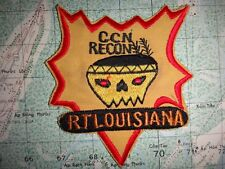 Vietnam War Patch RT LOUISIANA CCN RECON 5th Special Forces Group MACV-SOG Team