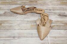 Sam Edelman Brandie Dress Sandals, Women's Size 8, Nude Silk
