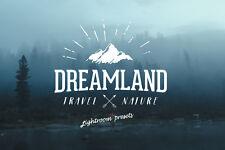 Dreamland Lightroom & ACR presets for landscapes and travel