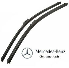 For MB S212 W212 E-Class W218 CLS-Class Front Wiper Blade Set OES 2128201900