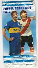 Argentina 2013-14 Futbol Torneo Nacional Soccer Sticker Pack