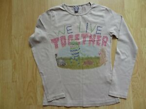 T-shirt manches longues, animaux, 7-8ans, Zara kids, 100% coton