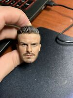 THREEQ MG001 1/6 David Beckham Head Carving Male Head Model F 12'' Doll Toy