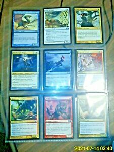 Magic The Gathering Card Lot Of 9