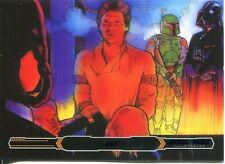 Star Wars Empire Strikes Back Illustrated Purple Parallel Base Card #80