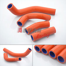 SILICONE RADIATOR HOSE KIT For KTM DUKE 125 200 2011-2014