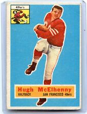 1956 TOPPS FOOTBALL #50 HUGH McELHENNY, SAN FRANCISCO 49ERS, WASHINGTON, 080217