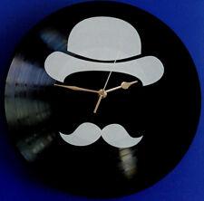 Vinyl Schallplatten-Uhr,Wanduhr,Deko, Retro, Geschenk, Vintage Motiv:Hipster