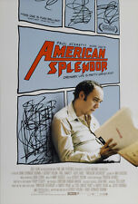 AMERICAN SPLENDOR MOVIE POSTER 2 Sided ORIGINAL 27x40 PAUL GIAMATTI