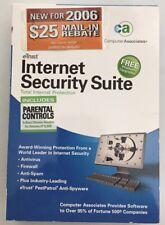 eTRUST INTERNET SECURITY SUITE--TOTAL INTERNET PROTECTION 2006