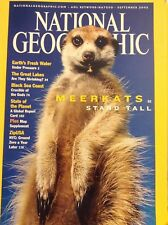 National Geographic Magazine Meerkats Stand Tall September 2002 021618nonrh
