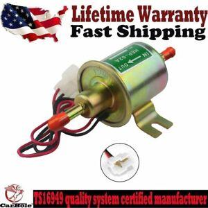 12V electric Fuel Pump Universal Gas Diesel Inline fit Car Trucks Boats 2.5-4PSI
