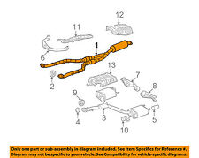 Lexus TOYOTA OEM 06-12 IS250 2.5L-V6 Exhaust System-Front Pipe 1741031G70