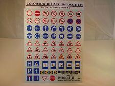 DECALS 1/43 PANNEAUX SIGNALISATIONS Part 1 - COLORADO  43145