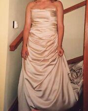 Ronald Joyce A-line Regular Size Strapless Wedding Dresses