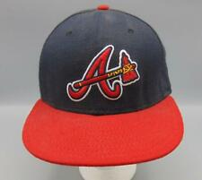 Atlanta Braves Baseball Cap/Hat Size 7 Authentic Collection New Era Tomahawk
