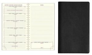 Exacompta Espace 16S Agenda Semainier Civil 2019 c:Noir Format:9x16cm Etat NEUF