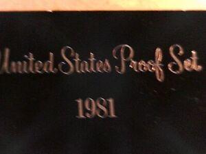 U S 1981 S PROOF Set