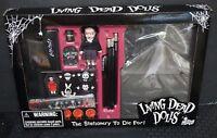 Living Dead Dolls Stationary Set LDD *MEZCO* SEALED IN BOX BRAND NEW FREE S&H