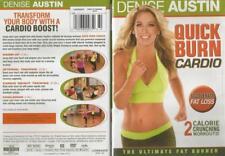 Denise Austin Fitness Workout Quick Burn Cardio Ultimate Fat Burner DVD NEW