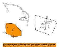 AUDI OEM 01-05 Allroad Quattro Glass-Rear-Door Window Left 4B9845205B