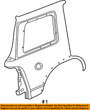 FORD OEM 02-05 Explorer-Quarter Panel Rear Fender Left 1L2Z7827841CA