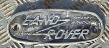 Land rover badge series