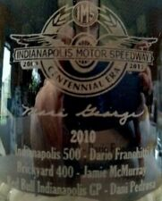 2010 Indianapolis Motor Speedway Centennial Era Rocks Glasses Indy 500