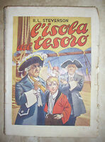 R.L. STEVENSON - L'ISOLA DEL TESORO - 1950 LUCCHI (YS)