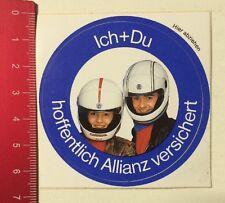 Aufkleber/Sticker: Ich + Du - Hoffentlich Allianz Versichert (20031623)