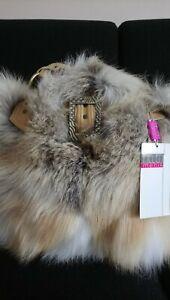 Real fur bag, fox.            RRP 65O                Excellent quality fur