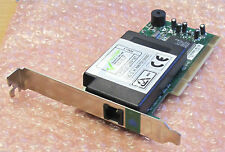 Dell port unique V.92 Data/Fax Profil Bas Modem Carte PCI module P/N 0130NK