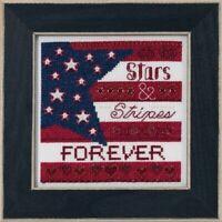 Mill Hill - Patriotic Quartet - Stars and Stripes - Cross Stitch Kit - MH17-1911