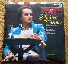 Sealed New Ld Laserdisc Umberto Giordano Andrea Chenier w/ Jose Carreras Marton