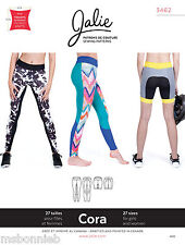 Jalie Running Tights Leggings & Shorts Women & Girls Sewing Pattern 3462 Cora